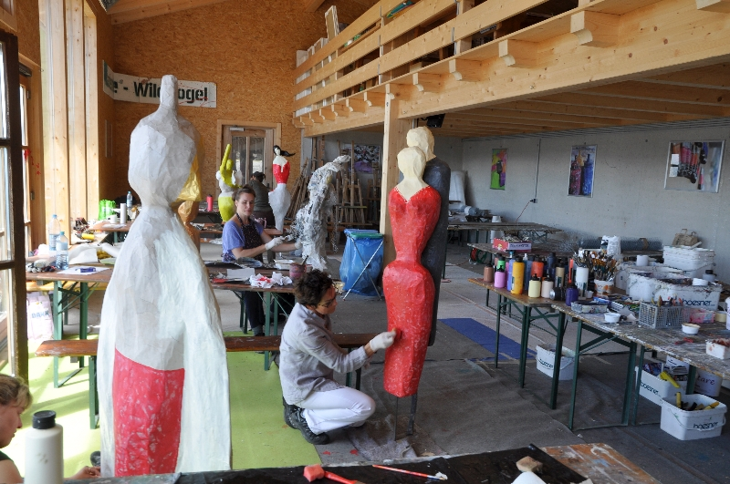 Das neue Wildkogel Atelier mit Terrasse