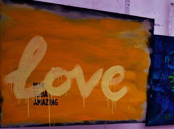 Love - Schablonen