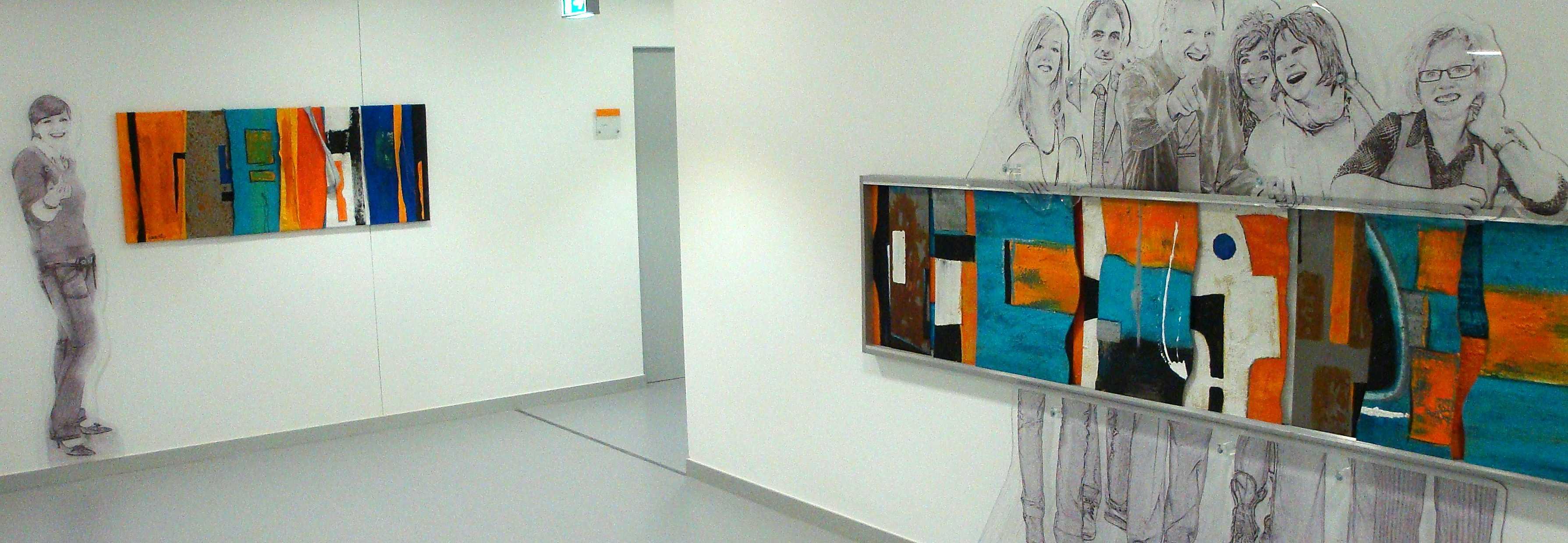Unternehmenskunst Creative Spaces bei Erdgas Südbayern