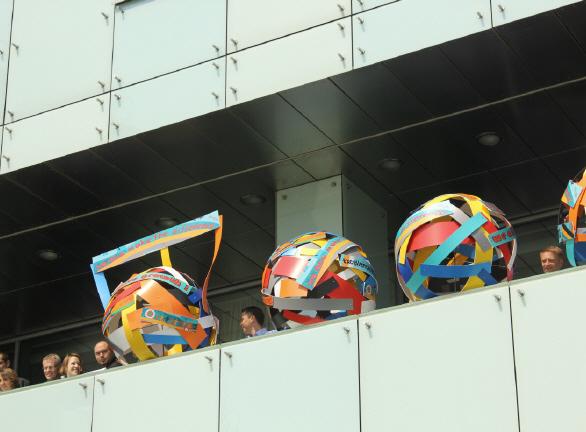 Beeindruckend Globen im Kempinski Bratislava