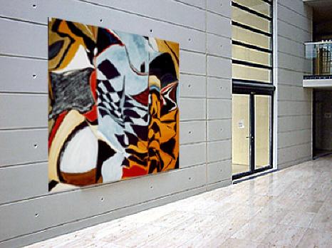 Extorsion - 200 x 350 cm