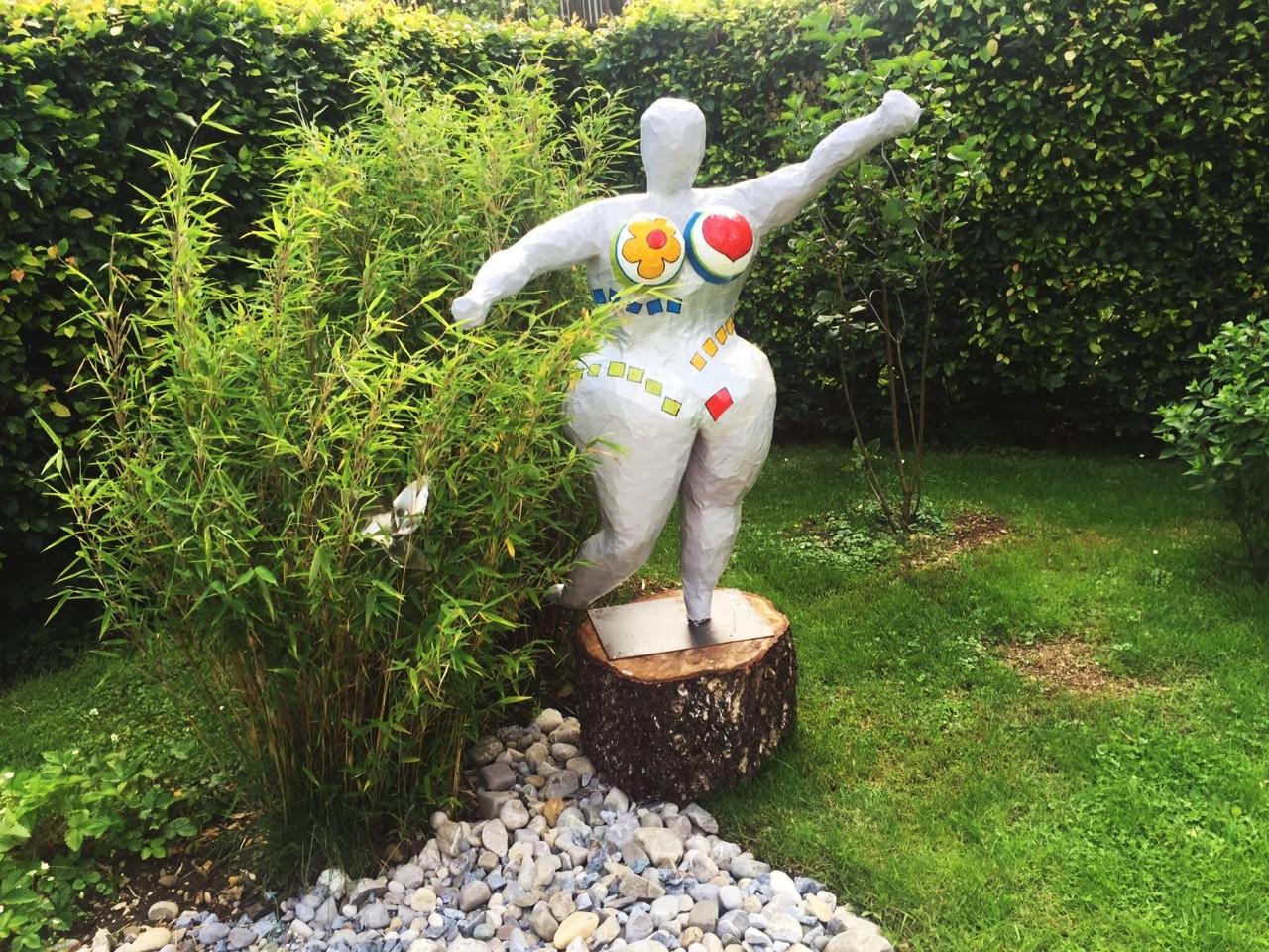 Gartenskulpturen Pärchen